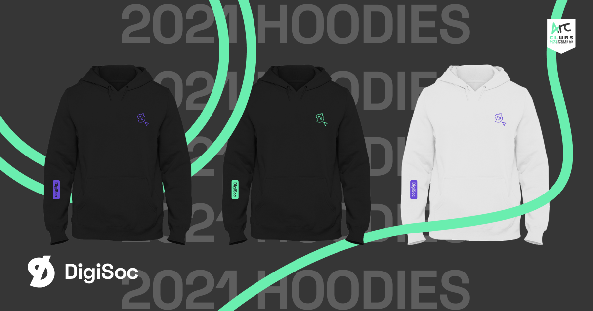 DigiSoc Presents: 2021 Hoodies