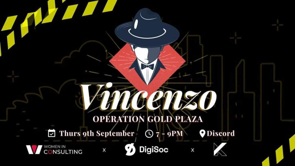 DigiSoc x WIC x KpopSoc: Vincenzo [Escape Room]