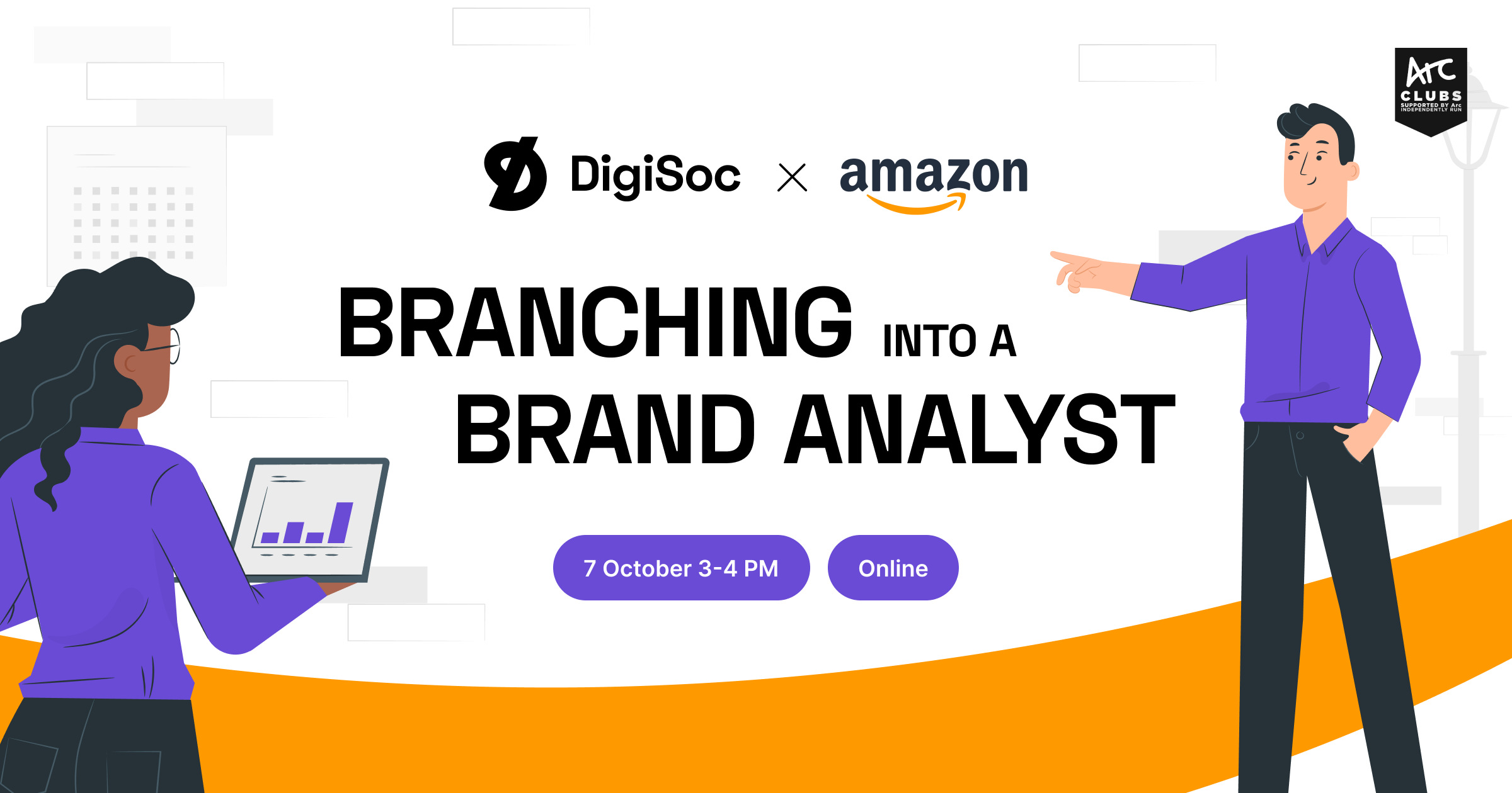 DigiSoc x Amazon: Branching into a Brand Analyst
