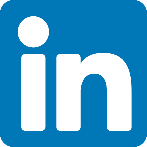 Linkedin logo button