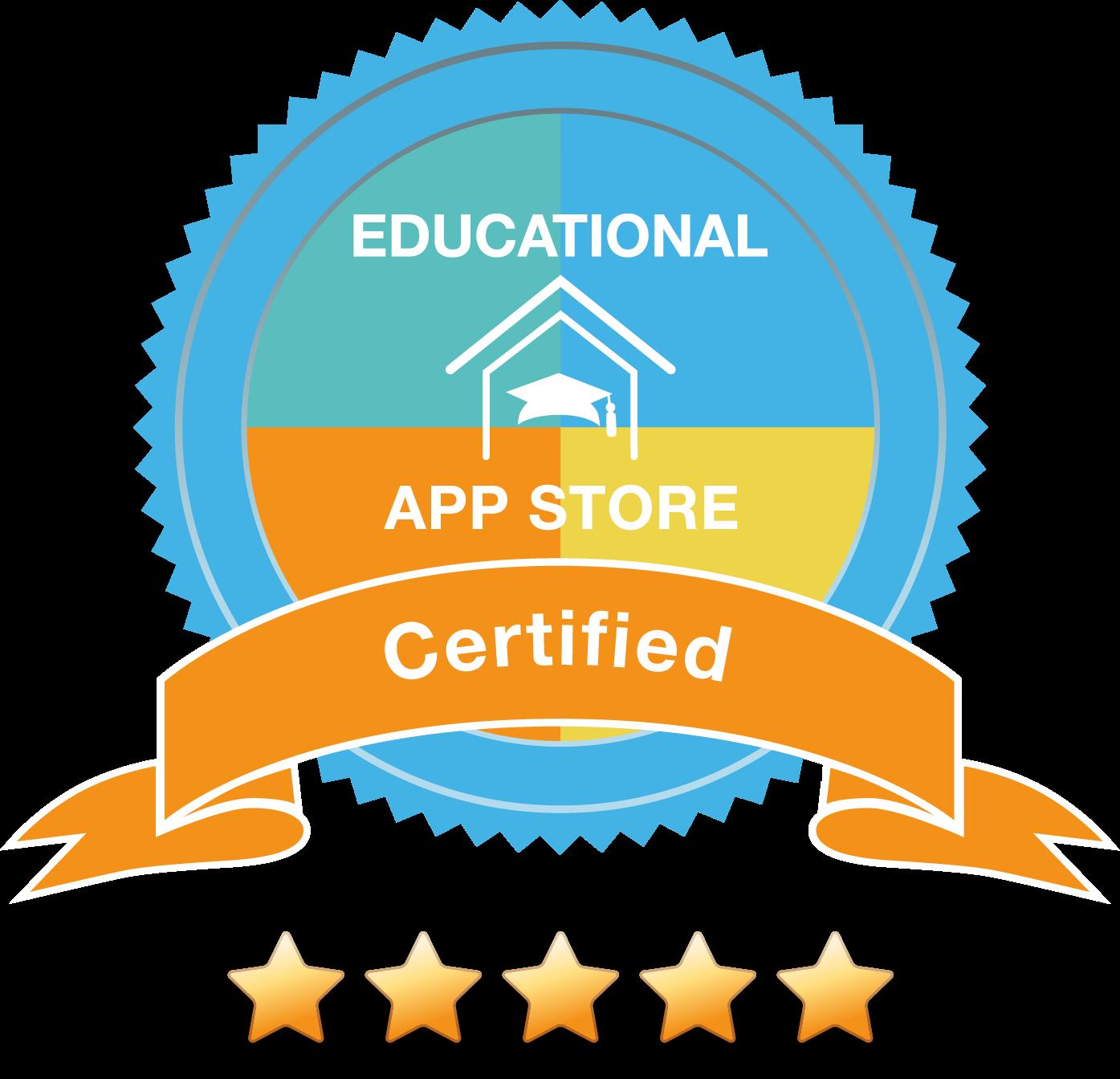 Educational App Store - 5 Star Rating App