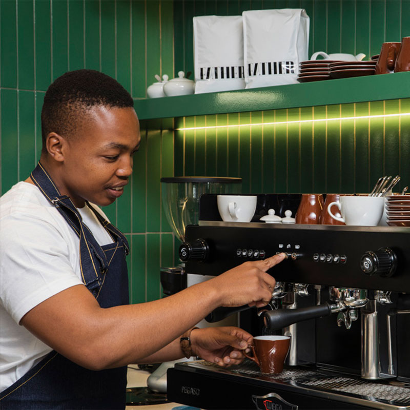 Home Suite Hotels Coffee Barista