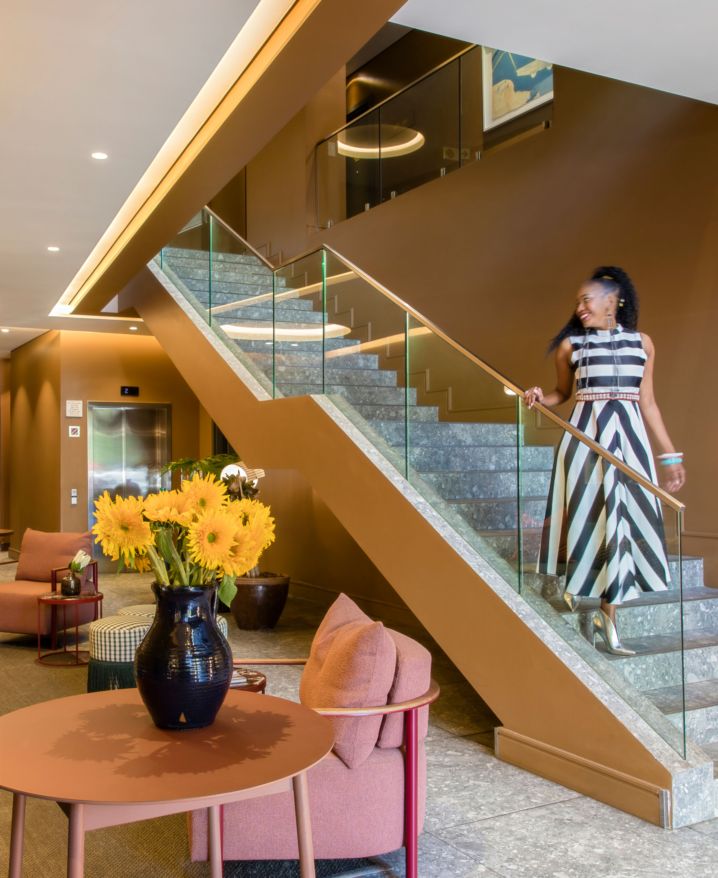 Home Suite Hotels staircase luxury living  boutique