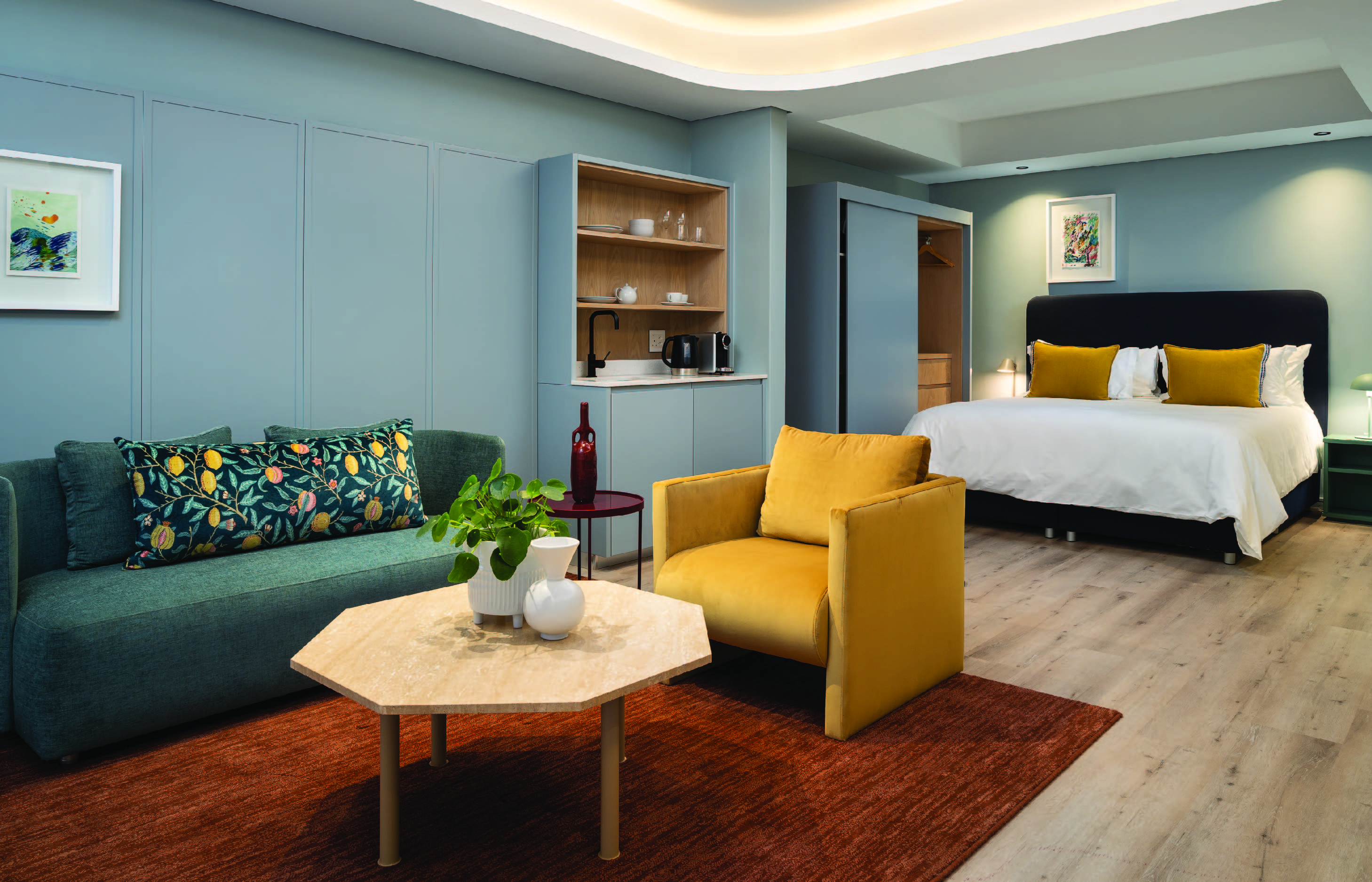 Home Suites The Quarter Cape Town hotel promotion hospitality luxe up living stylish comfort  local travel