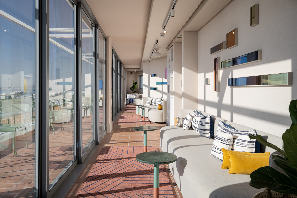 Home Suites Sea Point Sea Views Stunning views stylish serviced suites