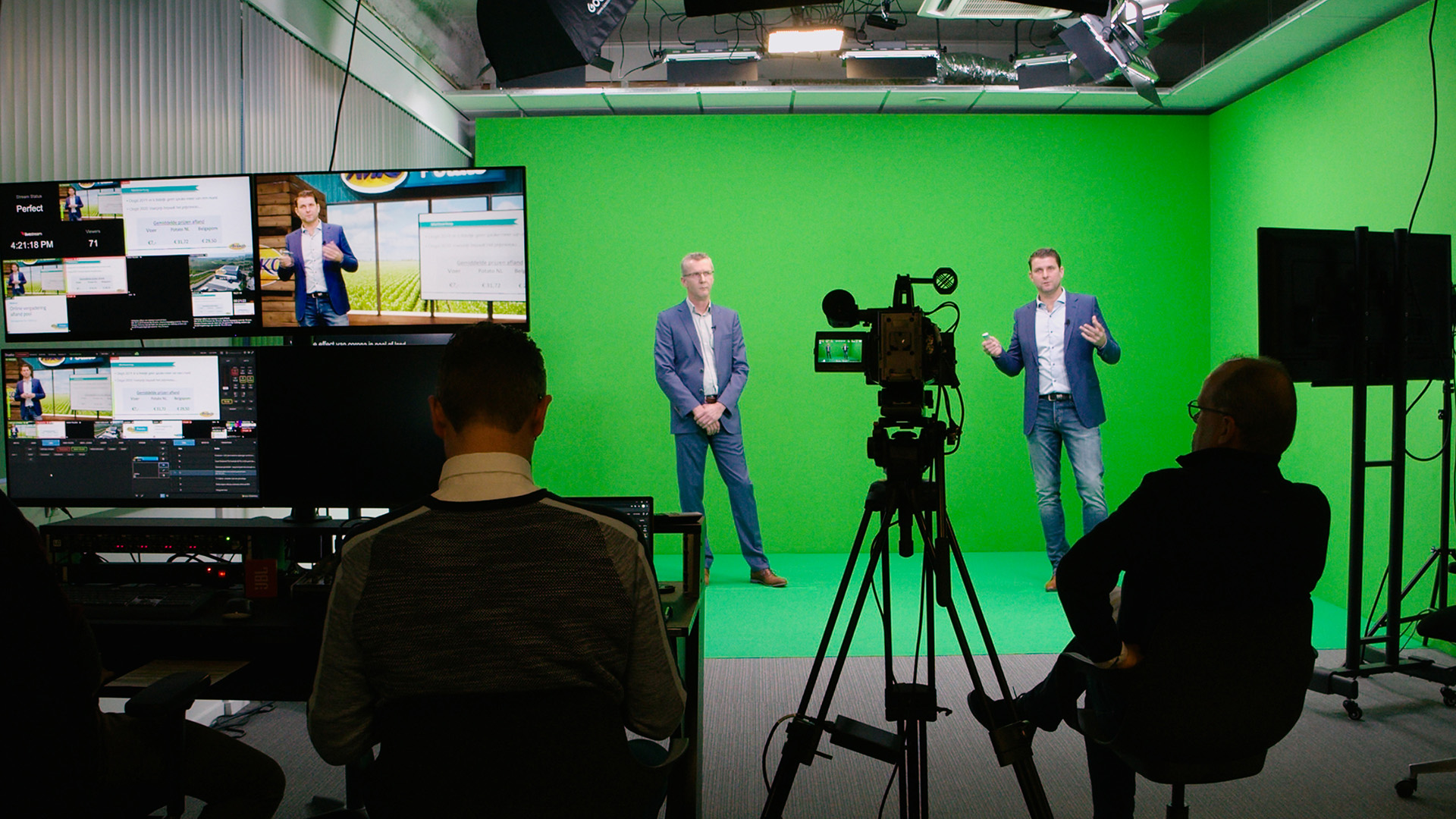 Virtuele livestream studio Kwoot