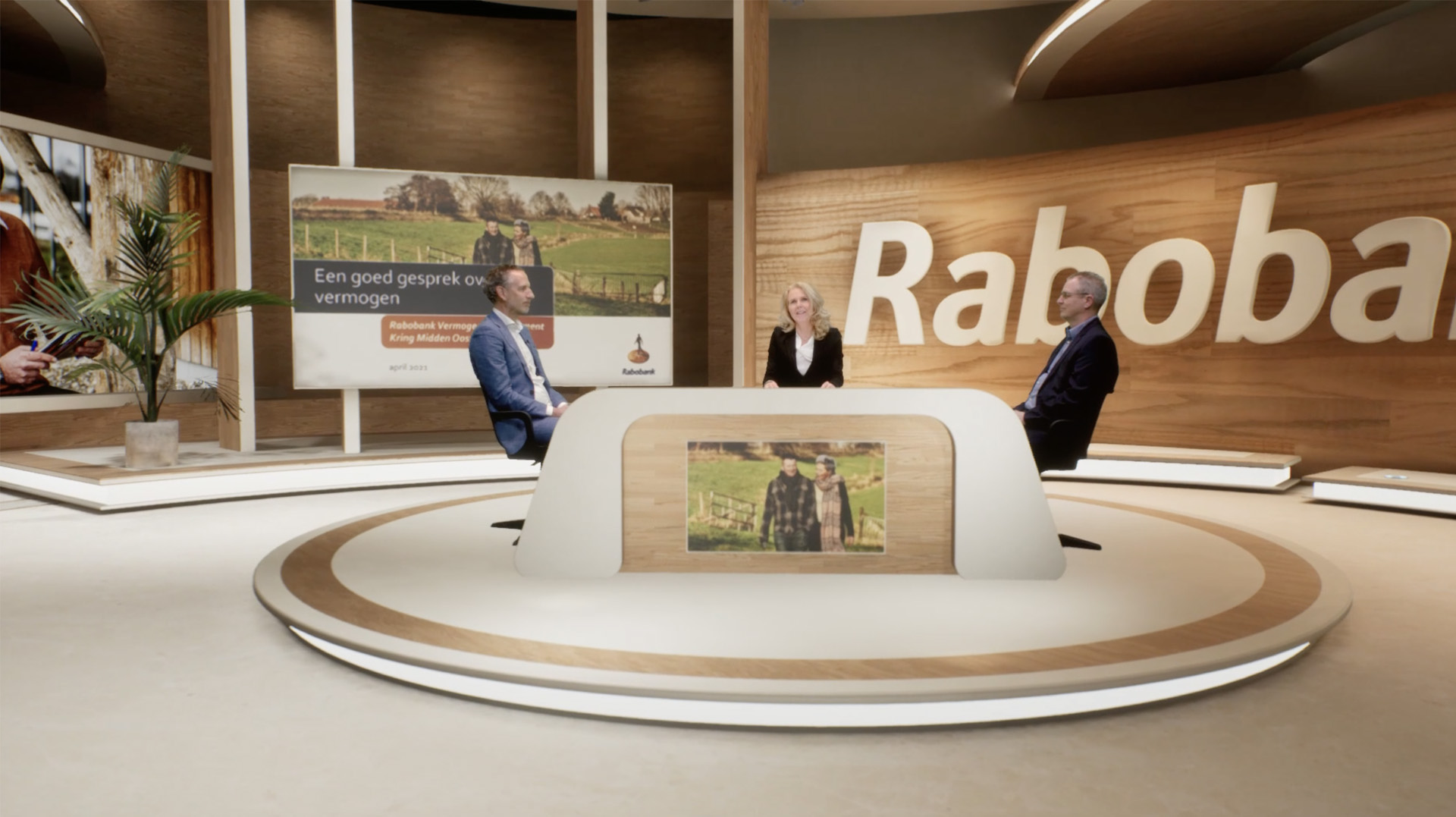 Virtuele studio Kwoot voor Rabobank