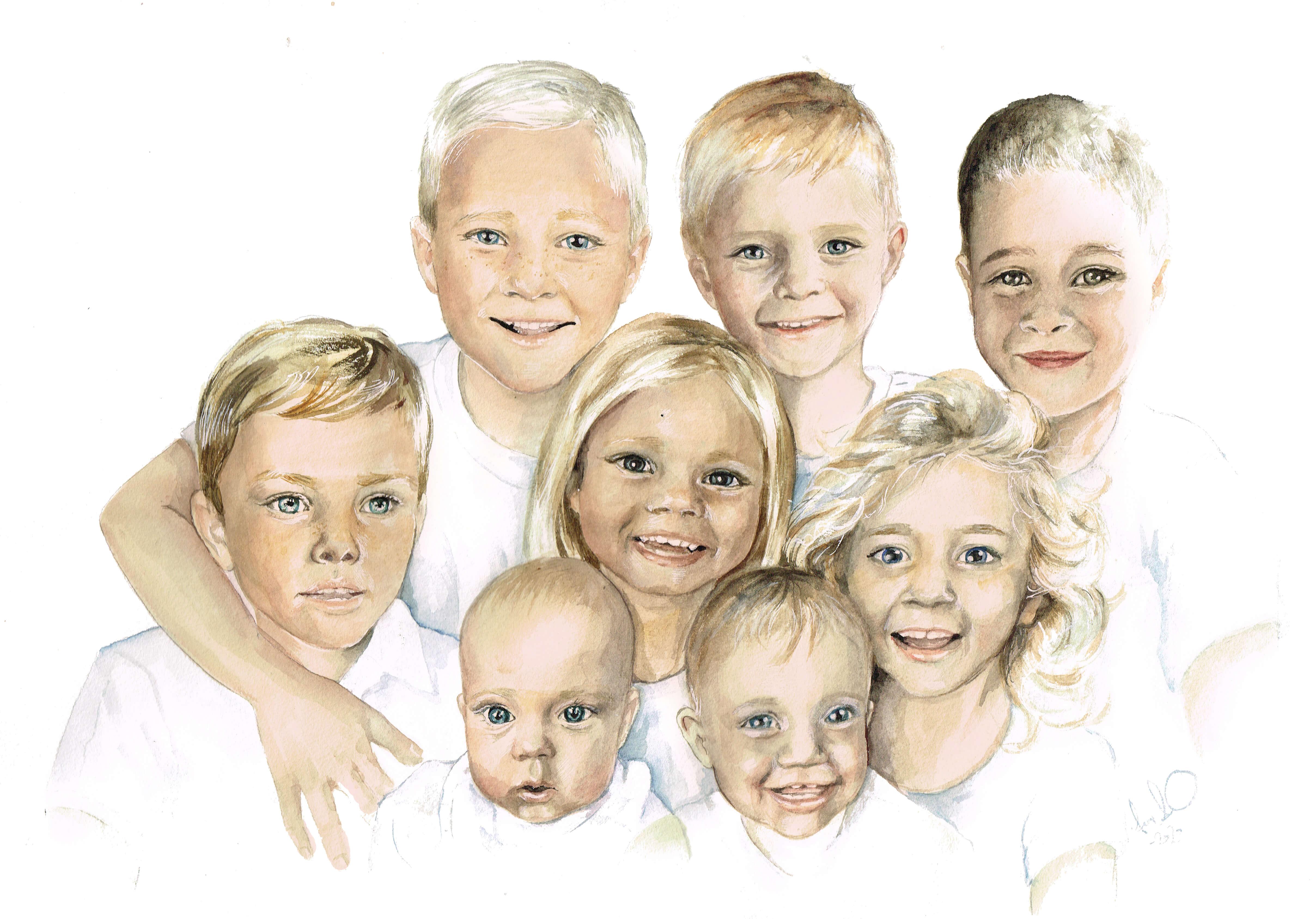 Åtta kusiner