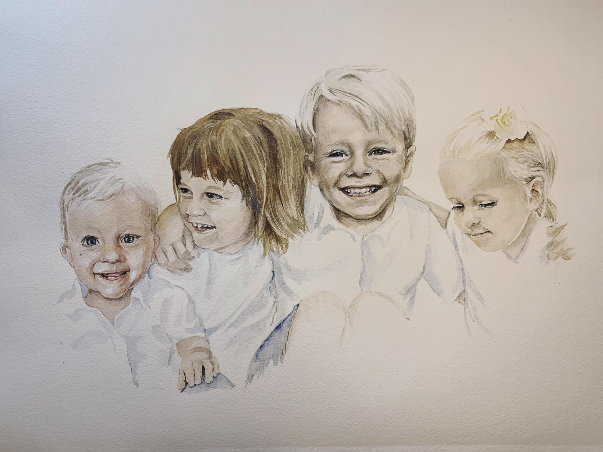 Fyra kusiner