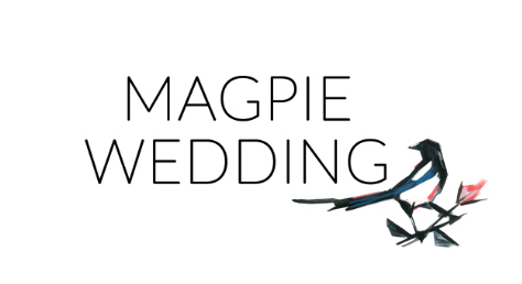 Published in Magpie Wedding logo | By Posh & Cake