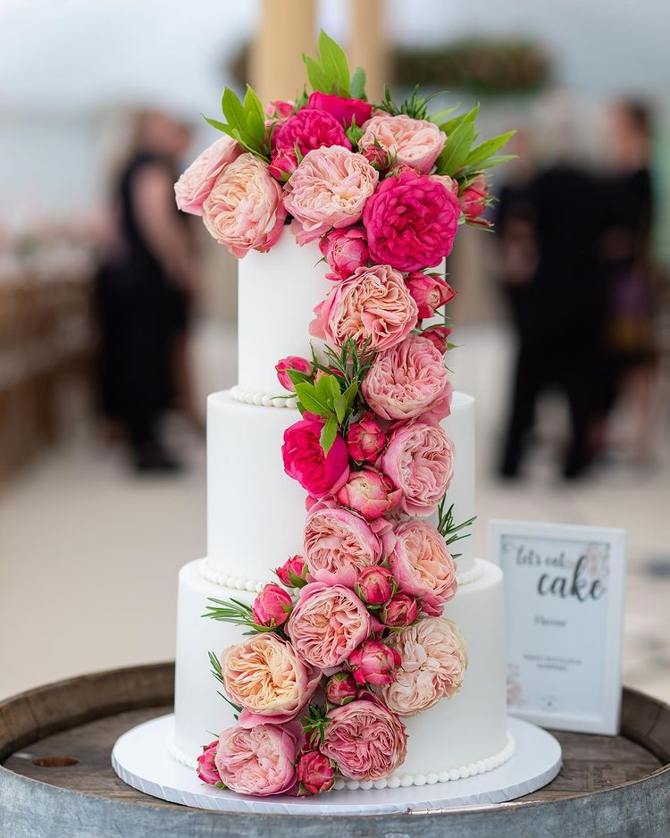 Luxury Wedding Cake at Hestercombe