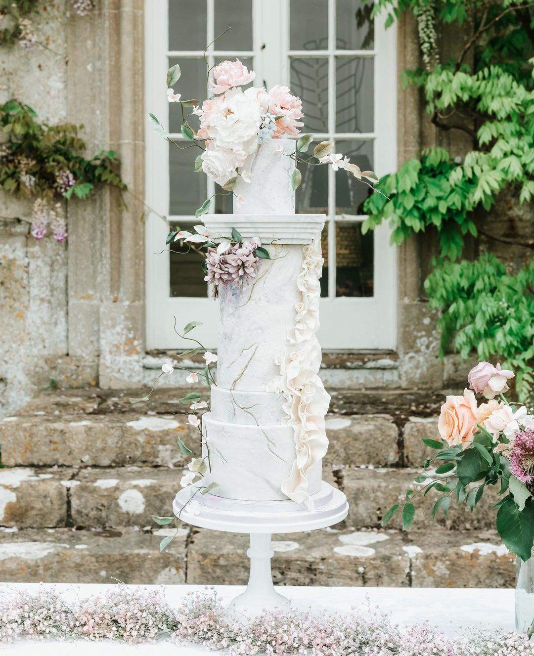 Luxury Wedding Cake at Hamswell House