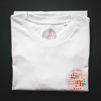 TWGGE Branded Organic Cotton T-shirt