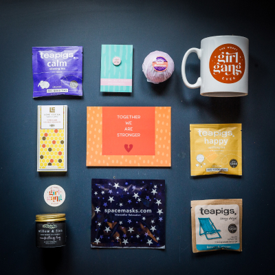 The Self Care Gift Box packed by Bex & Laura