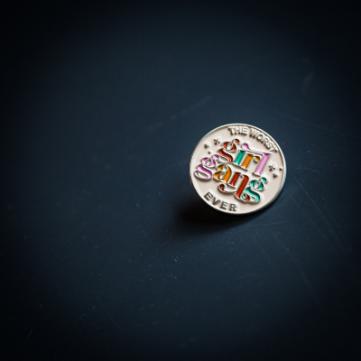 TWGGE Branded Pin Badge