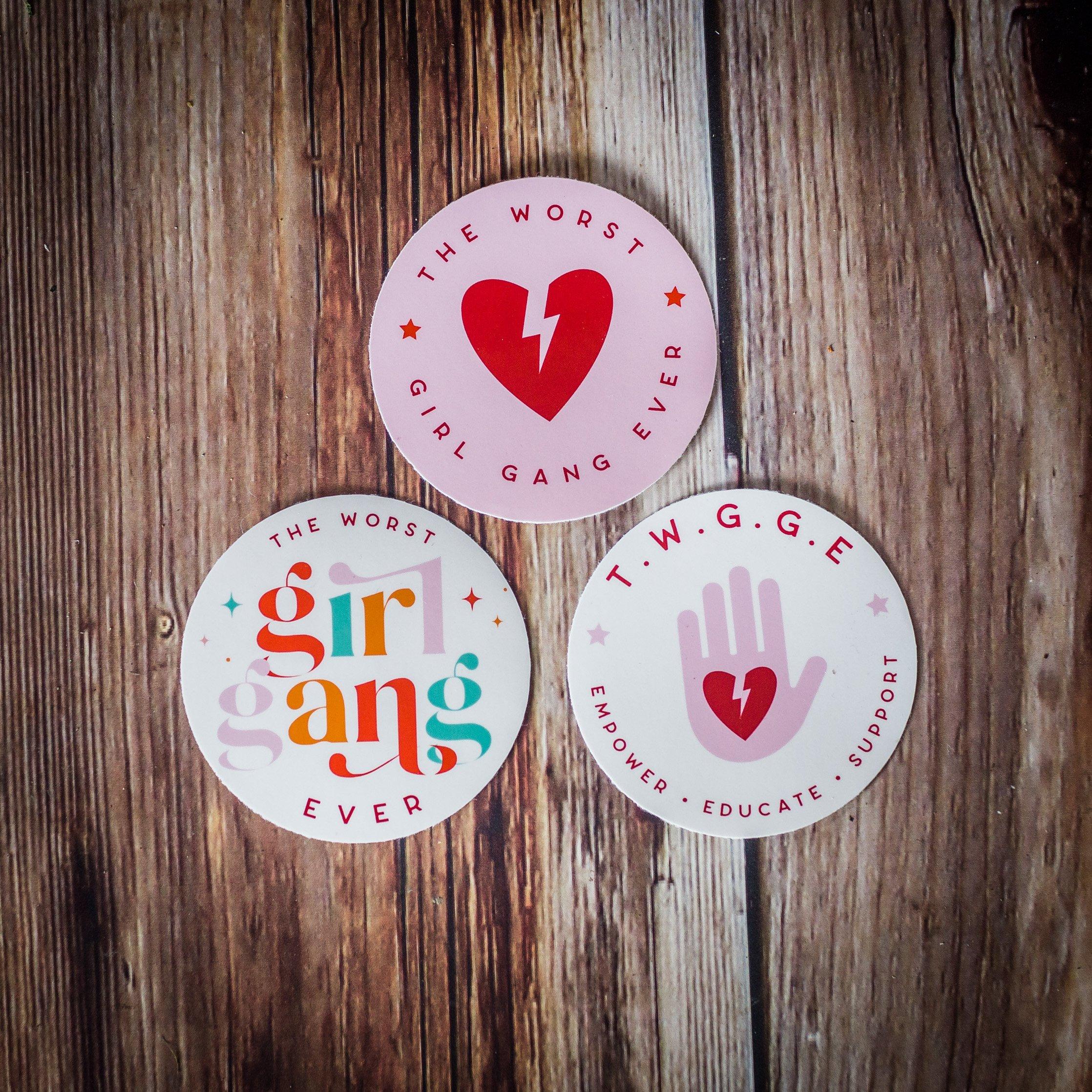 TWGGE Vinyl Stickers