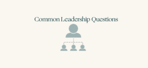 The most common leadership interview questions