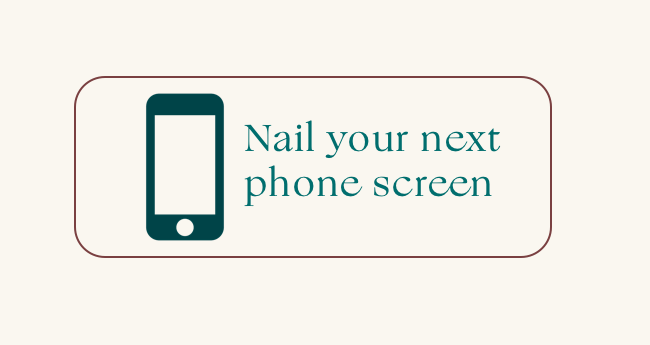 How to conduct an effective initial candidate phone screen