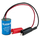 The CLICK-IT™is a practical, cost-effective way to locate and identify irrigation solenoid valves, making valve location a one person job. Connecting a single CLICK-IT™ to an irrigation system controller activates all valves, allowing them to be quickly located by a service technician or installer.
