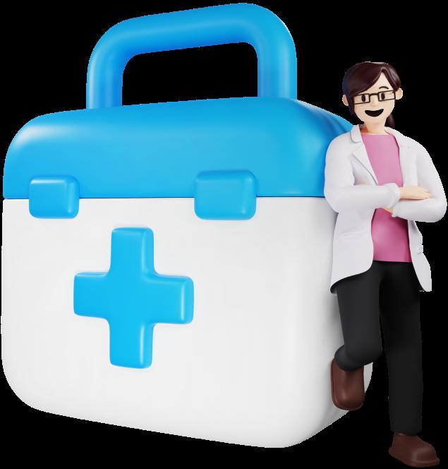 Pharmacist Female Character