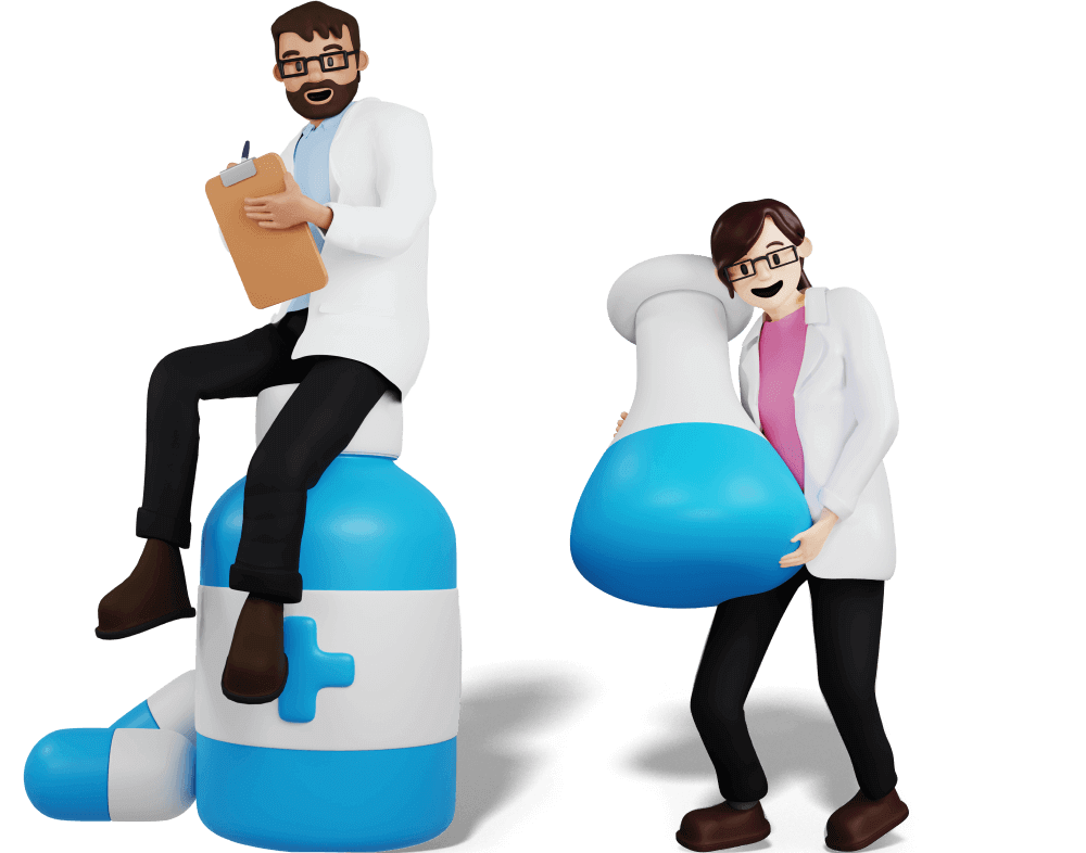 Compounding Pharmacy Characters