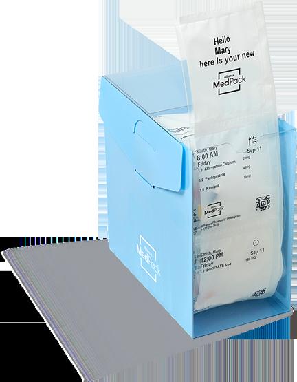 Pill Pouch and strip dispenser