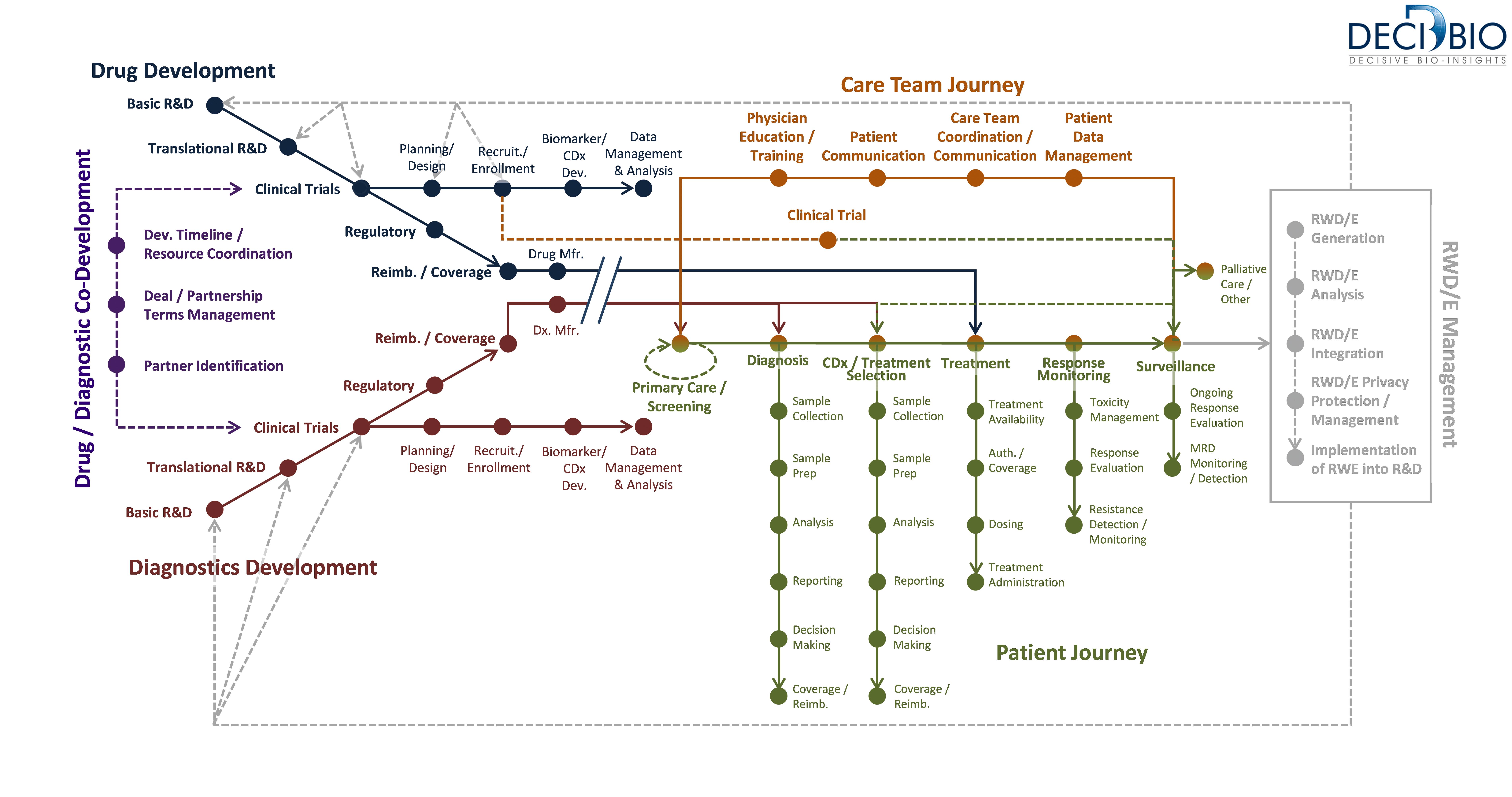 DeciBio Precision Medicine Landscape Map