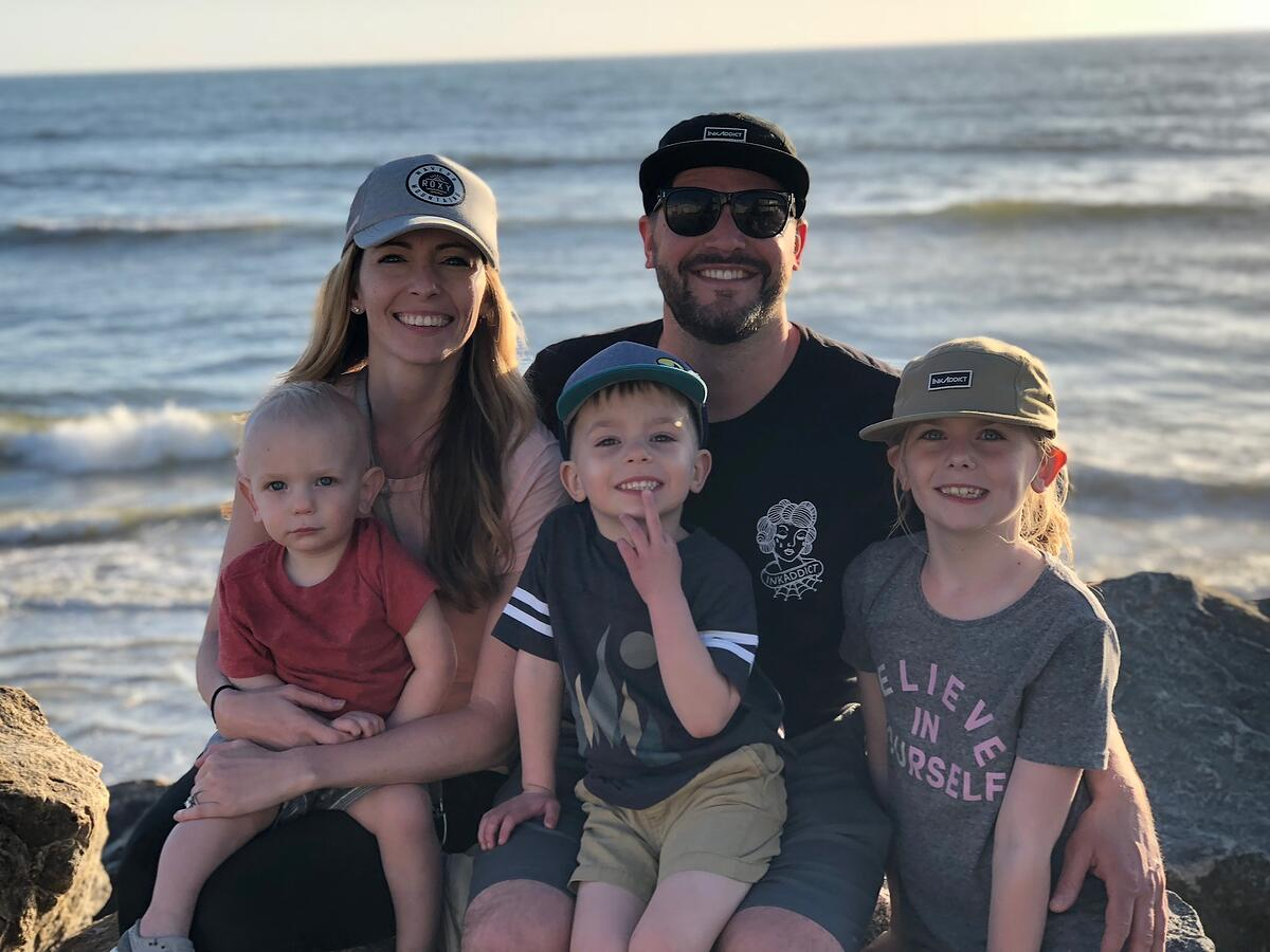 Jim Doyon, his bad ass wife, and his beautiful family