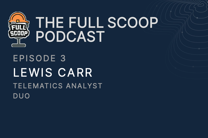 Episode 3: Lewis Carr, Telematics Analyst at Duo Operations