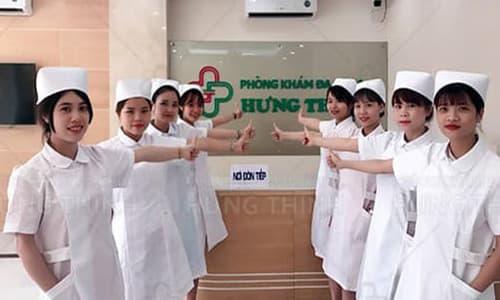 PK Hưng Thịnh khám và điều trị bệnh xã hội.