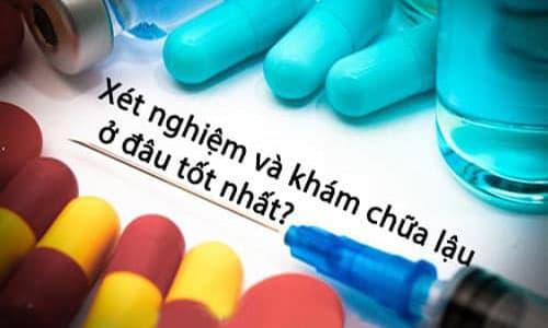 Chi phí chữa bệnh lậu phụ thuộc vào chi phí làm xét nghiệm ban đầu