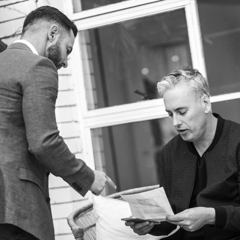 Blunt Agency Brand Studio on Set with Darren Palmer