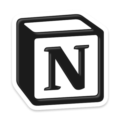 Logo of Notion