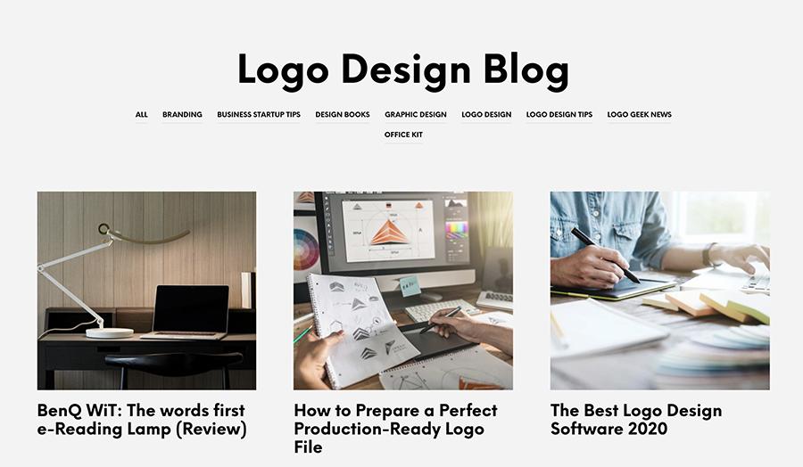 Logo Geek blog articles