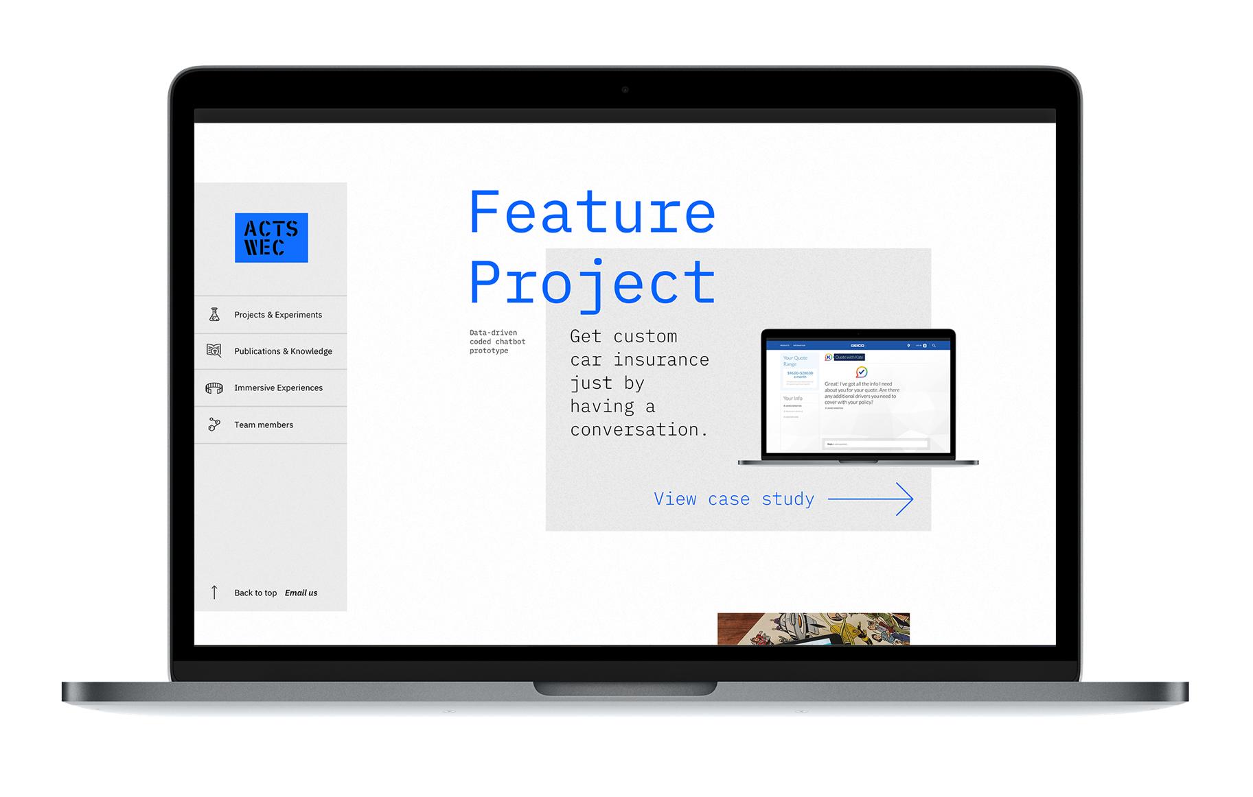ACTS Site Design
