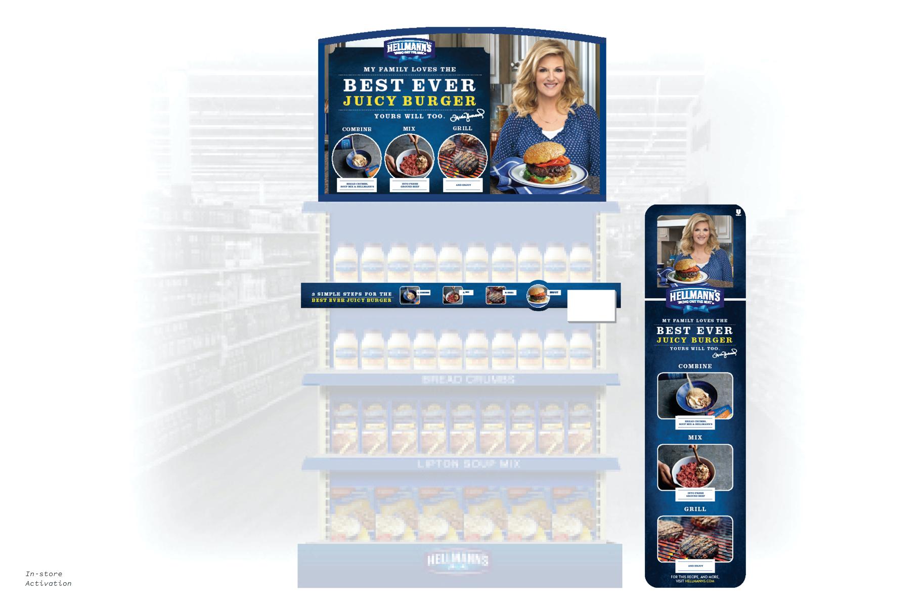 Hellmann's In-store Activation