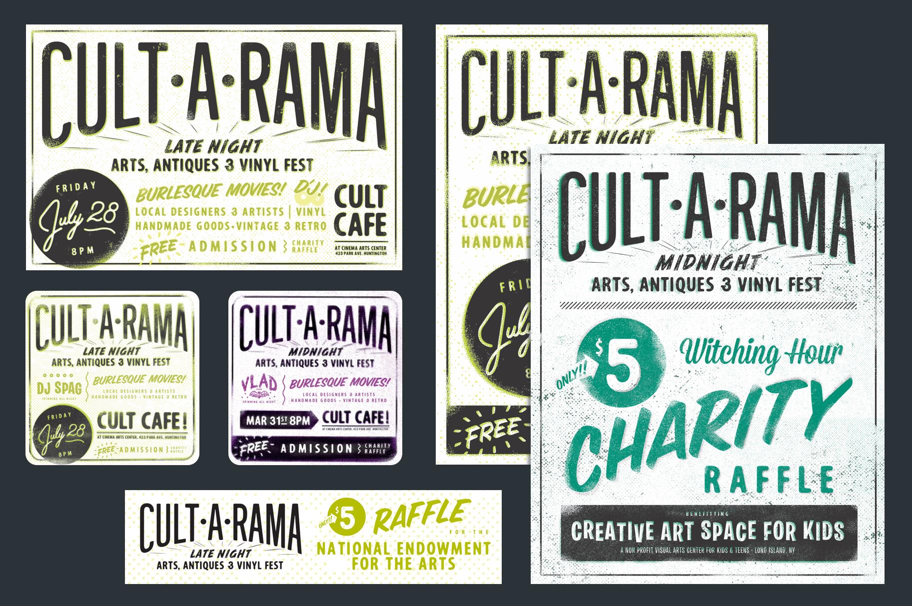 Cult•A•Rama ephemera