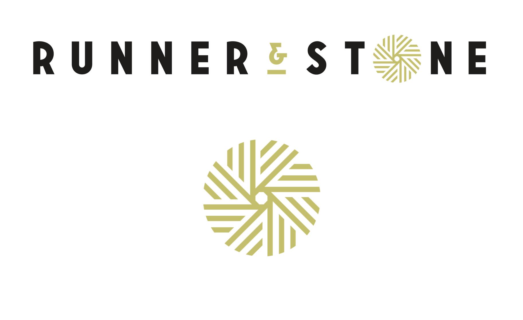 Final Runner and Stone logo design.