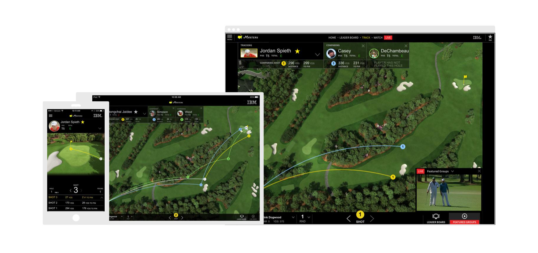 Mobile app, iPad app, and desktop version