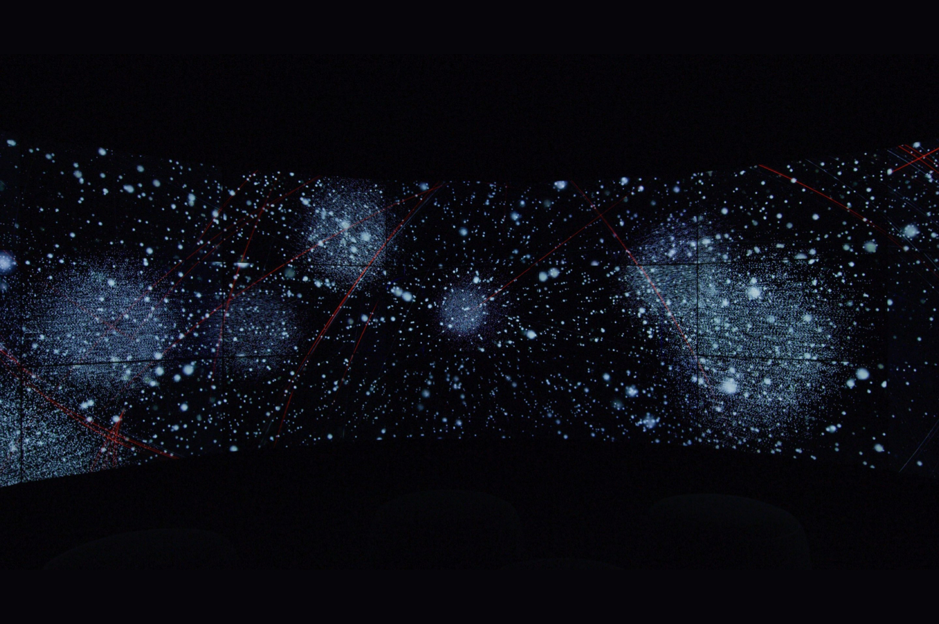Experience capture showing zooming through 3D space