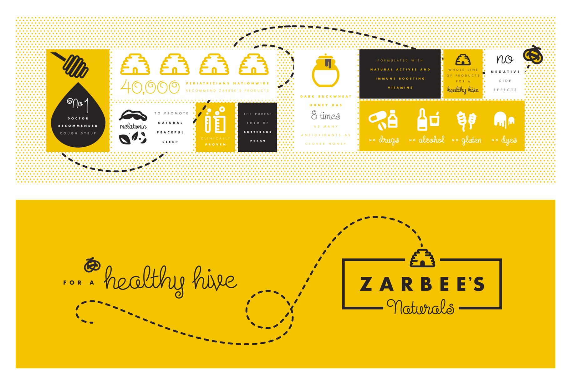 Spreads from Zarbee's pitch book