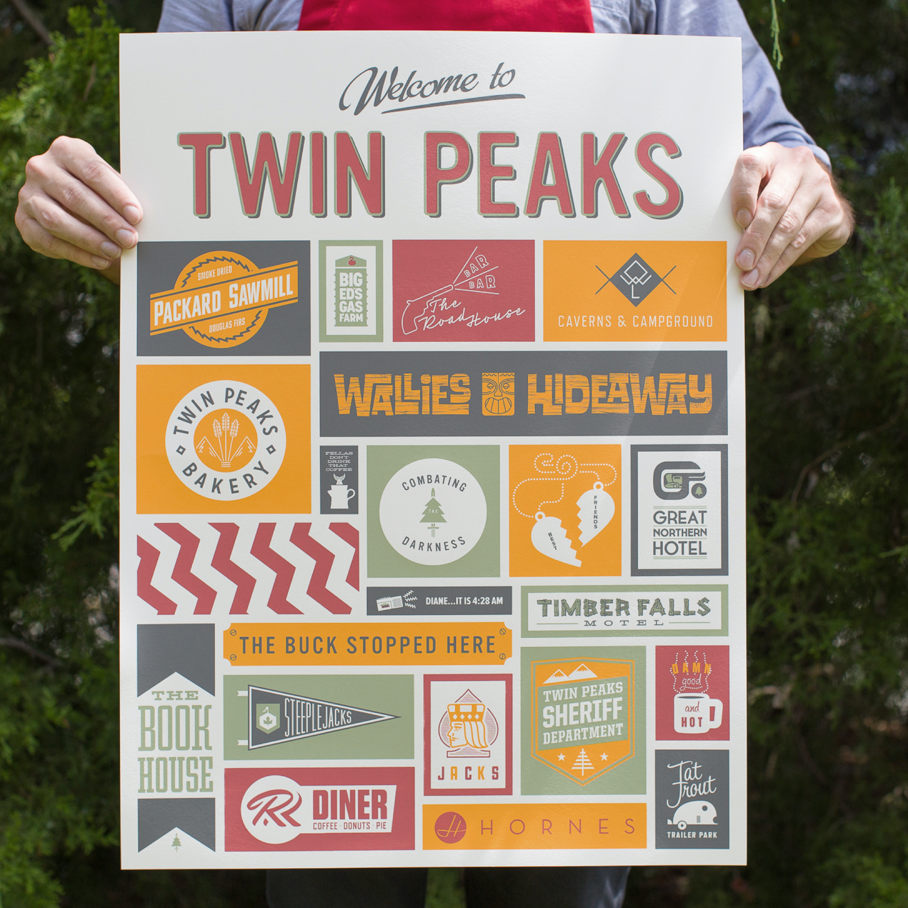 Photo of Twin Peaks poster