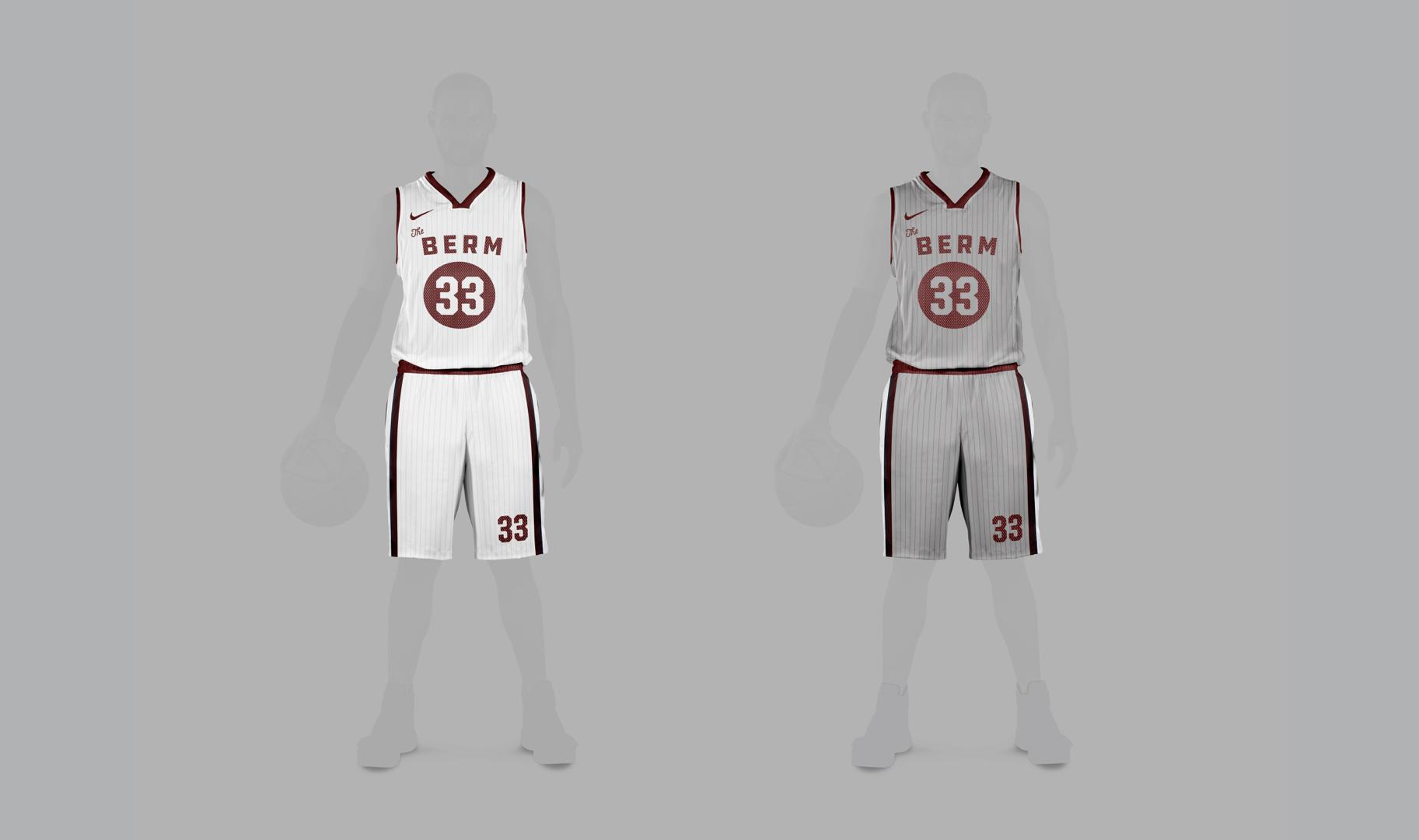 Away and Home basketball uniform