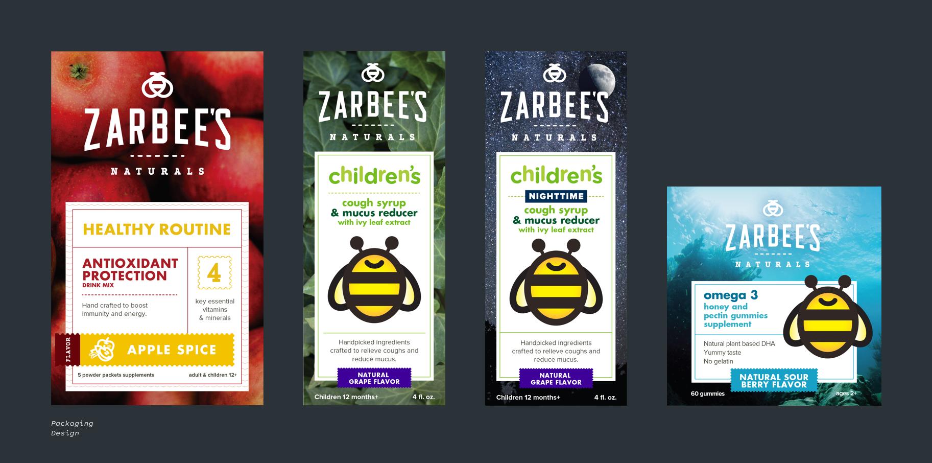 Zarbee's Naturals packaging