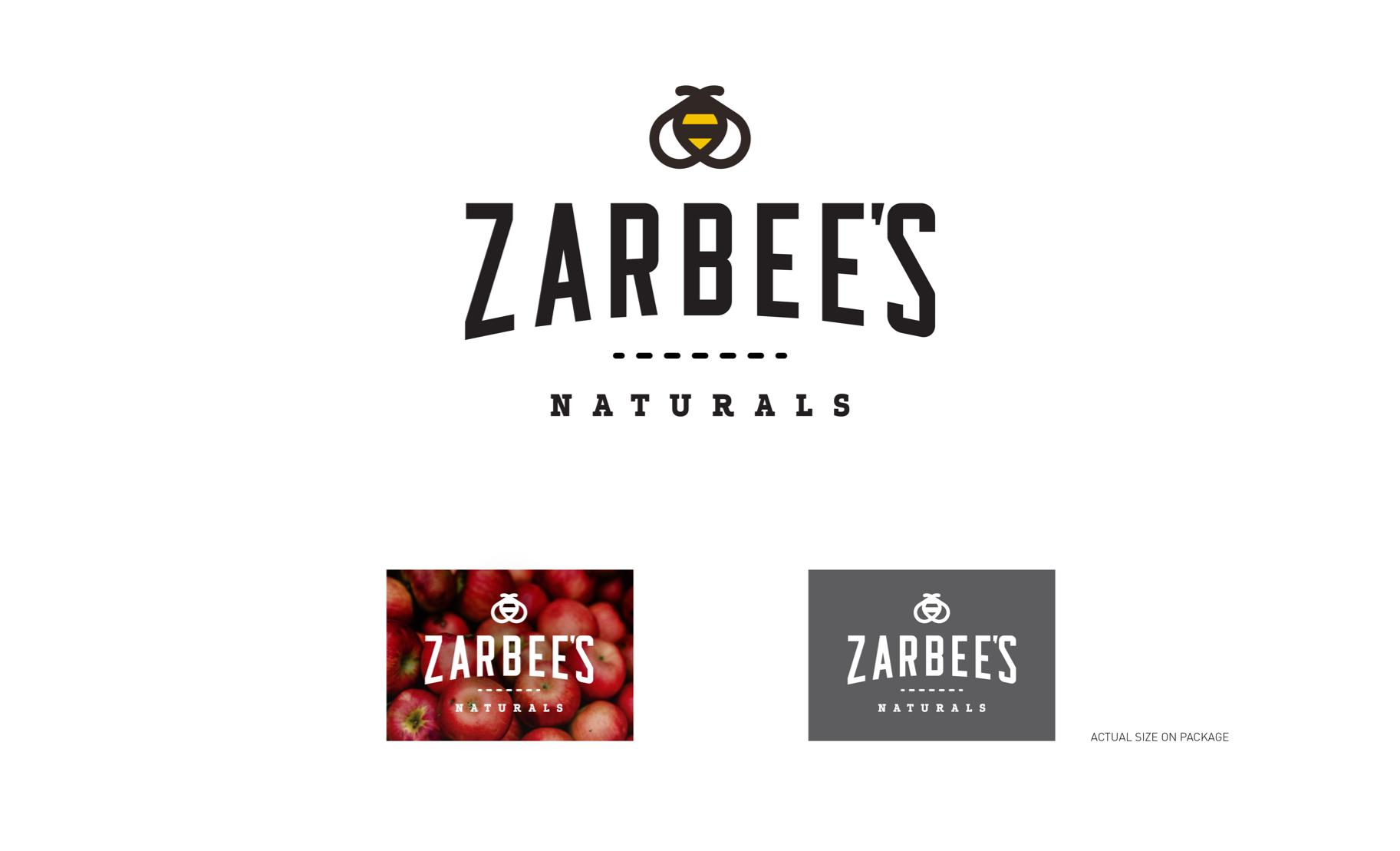 Zarbee's final logo design option