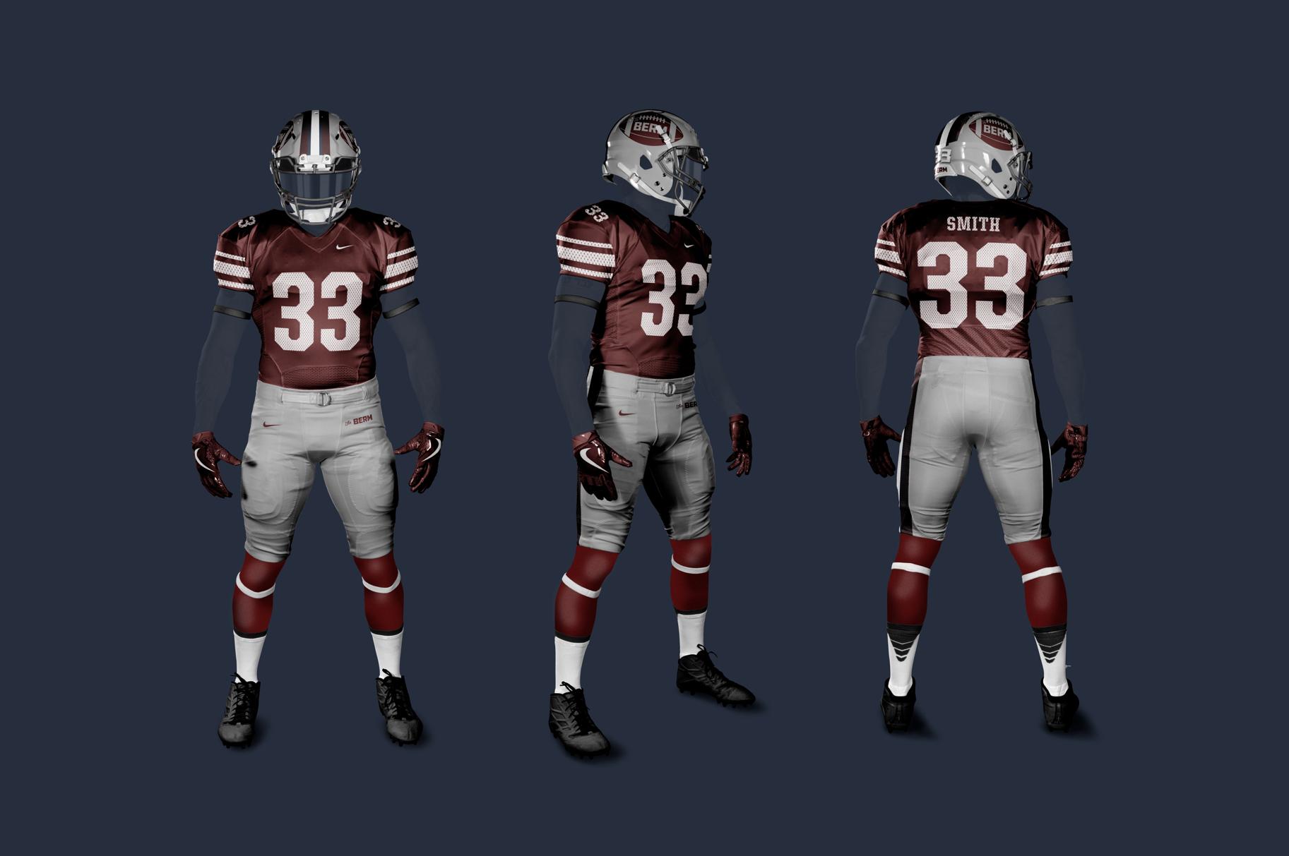 Home football uniform