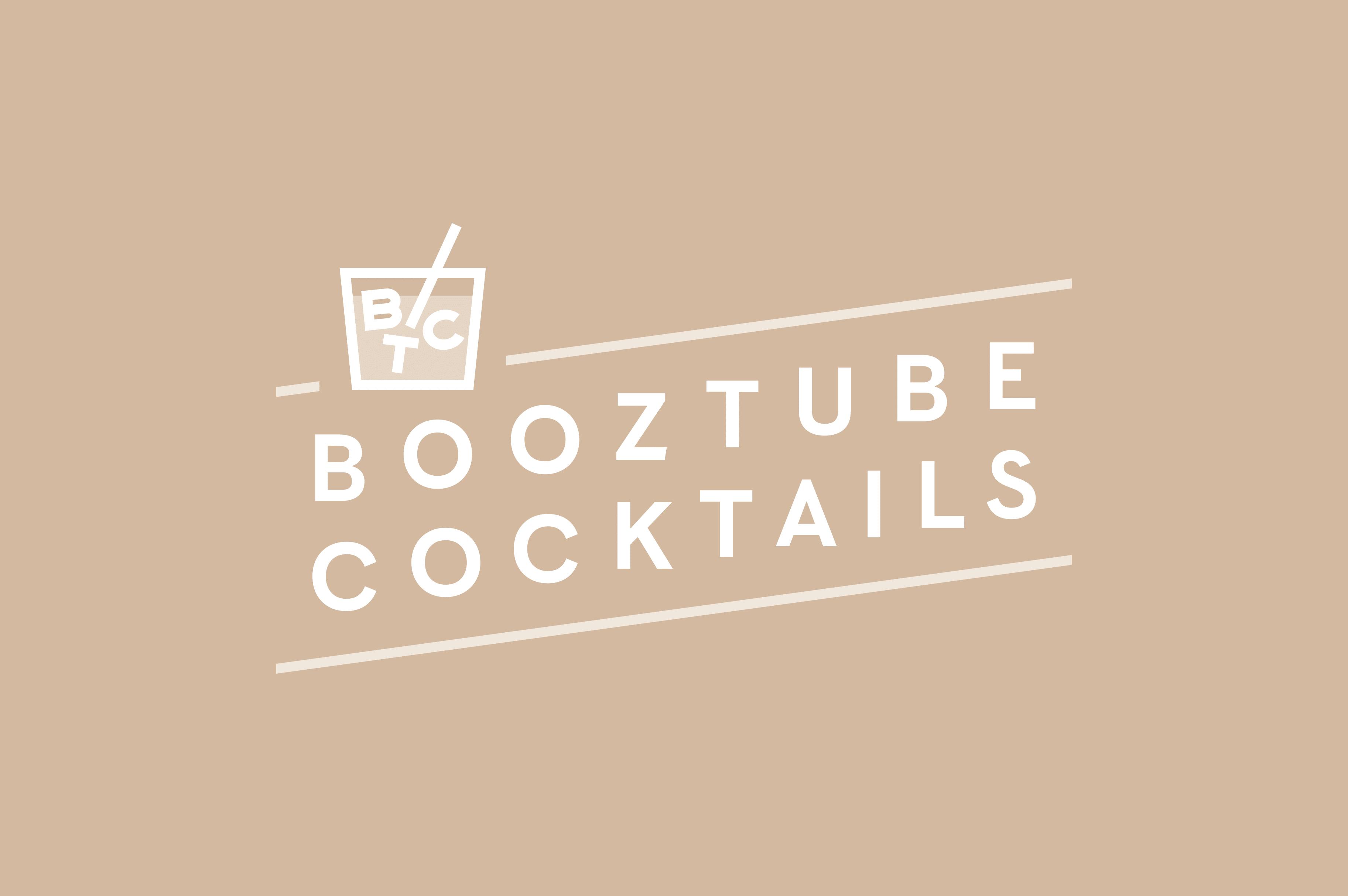 Booztube cocktails logo