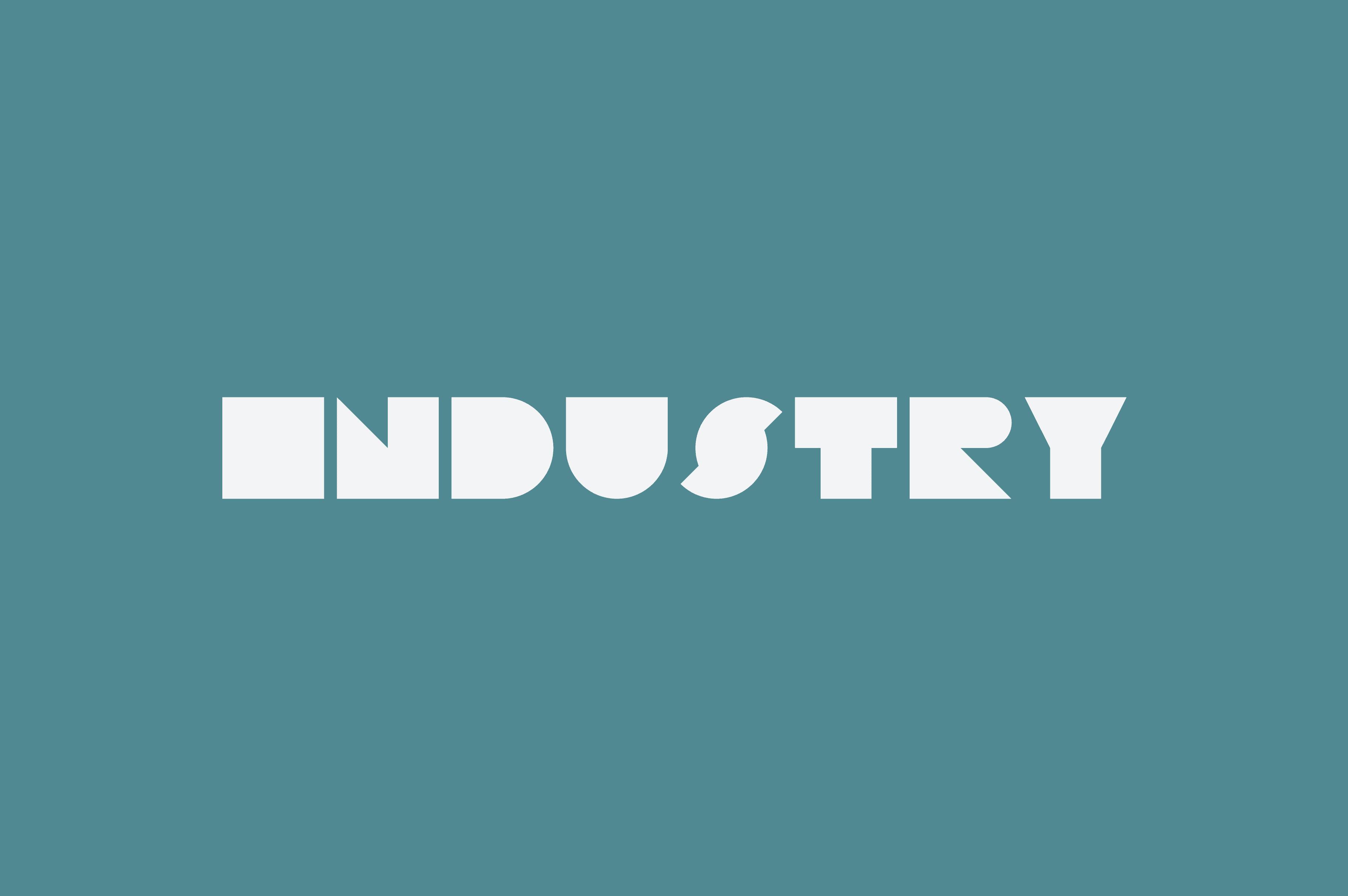 Industry logo design