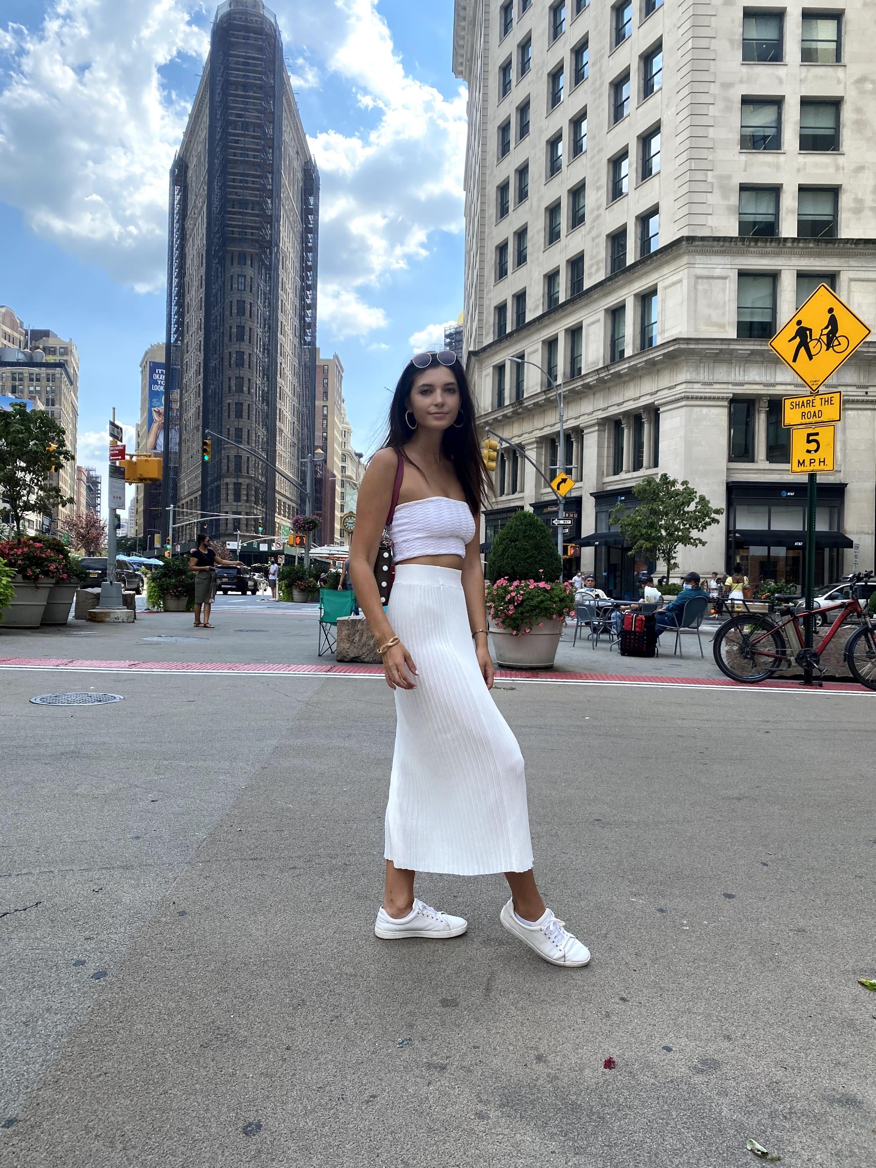 Kelly Hooper in New York