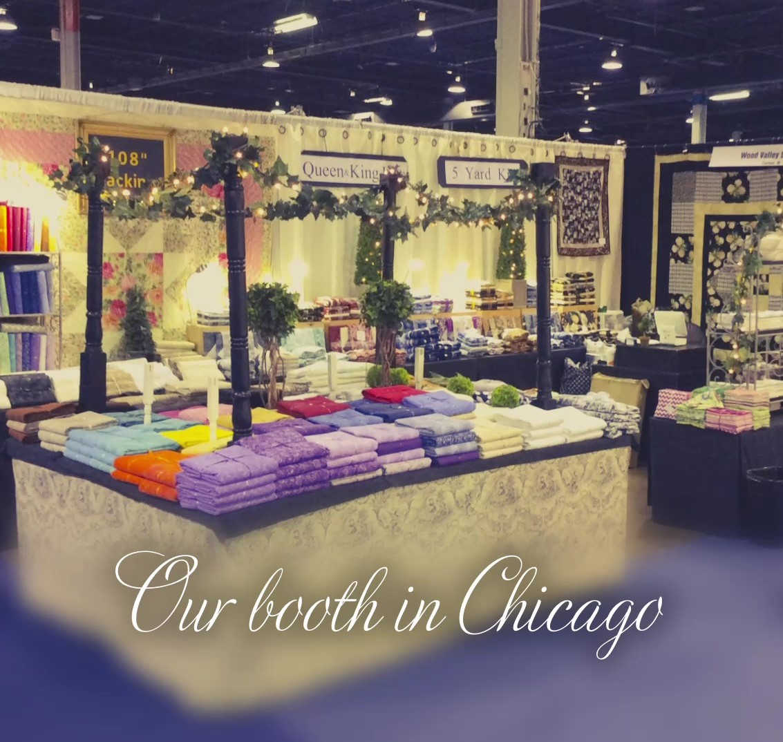 Chicago Quilt Booth